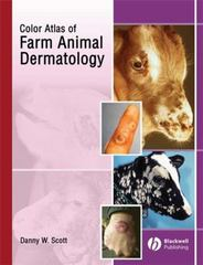 Color Atlas of Farm Animal Dermatology 1st edition 9780813805160 0813805163