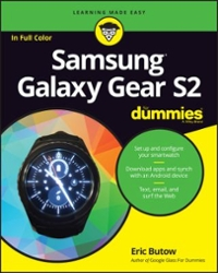 Samsung Gear S2 For Dummies 1st Edition 9781119279983 1119279984