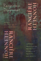 Recognition or Disagreement 1st Edition 9780231541442 0231541449