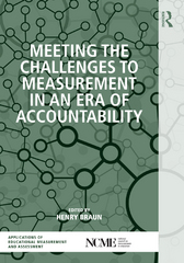 Meeting the Challenges to Measurement in an Era of Accountability 1st Edition 9781135040161 1135040168