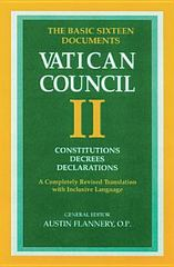 Constitutions, Decrees, Declarations 1st Edition 9780814624517 0814624510