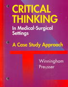 Critical Thinking in the Medical Surgical Setting 0 9780815194194 0815194196