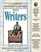 Career Opportunities for Writers 4th edition 9780816041435 0816041431