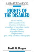 Rights of the Disabled 0 9780816071289 0816071284
