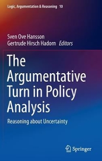 The Argumentative Turn in Policy Analysis 1st Edition 9783319305479 3319305476