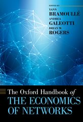 The Oxford Handbook of the Economics of Networks 1st Edition 9780199948284 0199948283