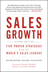 Sales Growth 2nd Edition 9781119281092 1119281091