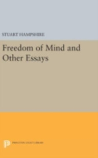 Freedom of Mind and Other Essays 1st Edition 9780691647258 0691647259
