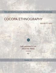 Cocopa Ethnography 1st Edition 9780816503674 0816503672