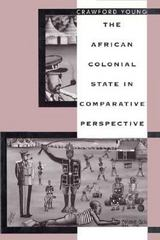 The African Colonial State in Comparative Perspective 0 9780300068795 0300068794