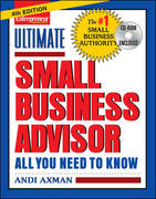 Ultimate Small Business Advisor 4th edition 9781599180854 1599180855