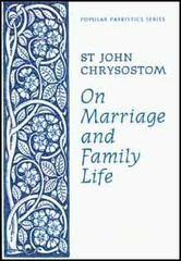 On Marriage and Family Life 0 9780913836866 0913836869