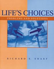 Life's Choices 1st edition 9780534359331 0534359337