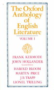 The Oxford Anthology of English Literature 2nd edition 9780195016574 0195016572