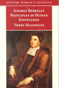 Principles of Human Knowledge and Three Dialogues 0 9780192835499 0192835491