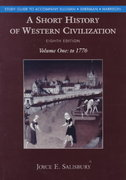 A Short History of Western Civilization 8th edition 9780070269026 0070269025