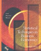 Statistical Techniques in Business and Economics 11th edition 9780072402827 0072402822