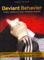 Deviant Behavior 8th edition 9780205570836 0205570836