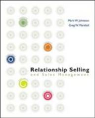 Relationship Selling and Sales Management 1st Edition 9780072983173 0072983175