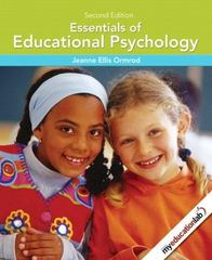 Essentials of Educational Psychology 2nd Edition 9780135016572 0135016576