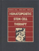 Hematopoietic Stem Cell Therapy 0 9780443076220 0443076227