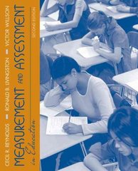 Measurement and Assessment in Education 2nd Edition 9780205579341 0205579345