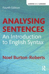 Analysing Sentences 4th Edition 9781317293835 1317293835