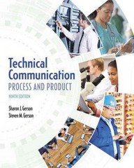 Technical Communication 9th Edition 9780134266459 0134266455