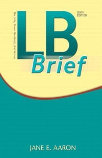 LB Brief with Tabs Plus MyWritingLab with Pearson eText -- Access Card Package 6th Edition 9780134140186 0134140184