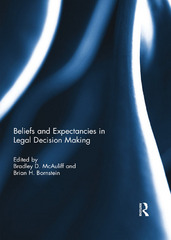 Beliefs and Expectancies in Legal Decision Making 1st Edition 9781317610649 1317610644