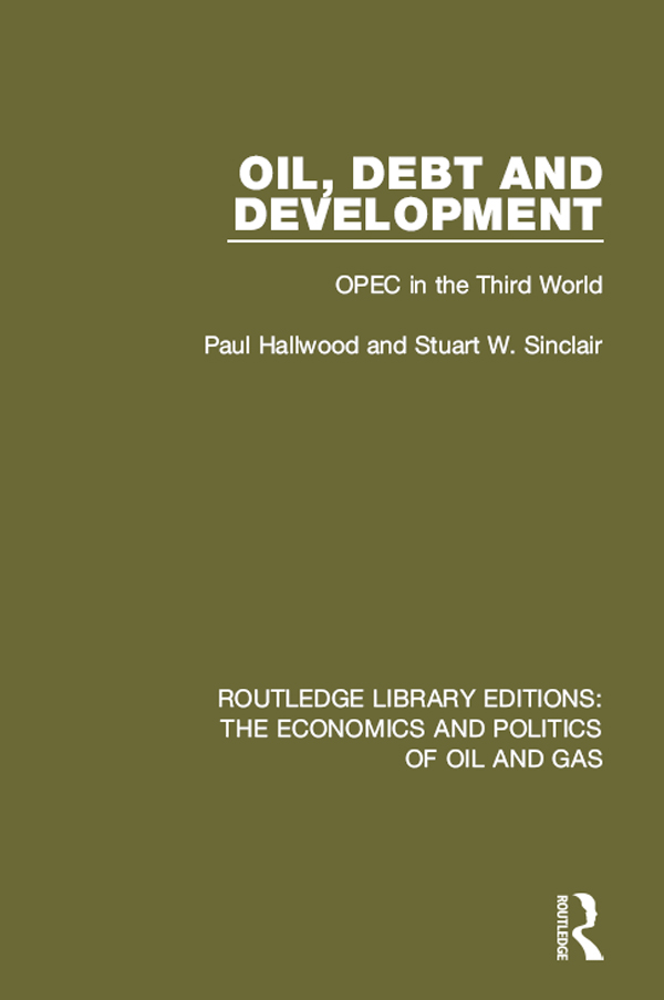 Oil, Debt and Development 1st Edition 9781317244233 1317244230