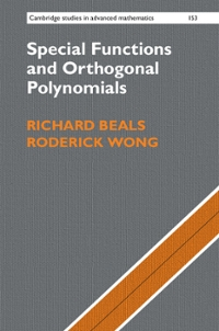 Special Functions and Orthogonal Polynomials 1st Edition 9781316578735 1316578739