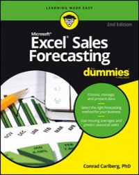 Excel Sales Forecasting For Dummies 2nd Edition 9781119291428 1119291429