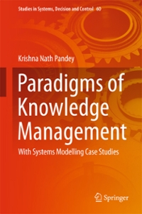Paradigms of Knowledge Management 1st Edition 9788132227854 8132227859
