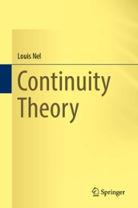 Continuity Theory 1st Edition 9783319311593 331931159X