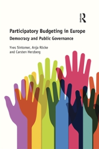 Participatory Budgeting in Europe 1st Edition 9781317083924 131708392X