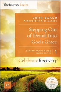 Stepping Out of Denial into God's Grace Participant's Guide 1 1st Edition 9780310082347 031008234X