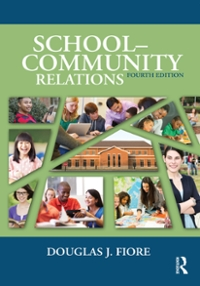 School-Community Relations 4th Edition 9781317585138 1317585135