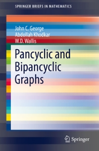 Pancyclic and Bipancyclic Graphs 1st Edition 9783319319513 3319319515