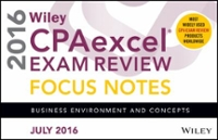 Wiley CPAexcel Exam Review July 2016 Focus Notes 12th Edition 9781119297185 1119297184
