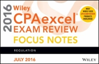 Wiley CPAexcel Exam Review July 2016 Focus Notes 12th Edition 9781119297208 1119297206