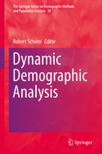 Dynamic Demographic Analysis 1st Edition 9783319266039 3319266039