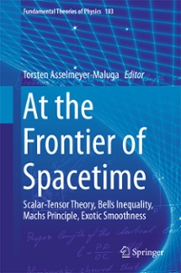 At the Frontier of Spacetime 1st Edition 9783319312996 3319312995
