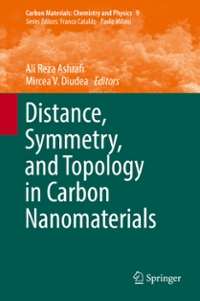 Distance, Symmetry, and Topology in Carbon Nanomaterials 1st Edition 9783319315843 3319315846