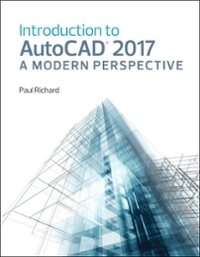 Introduction to AutoCAD 2017 1st Edition 9780134506951 0134506952