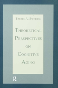 Theoretical Perspectives on Cognitive Aging 1st Edition 9781317717294 1317717295