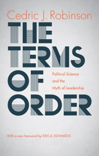 The Terms of Order 1st Edition 9781469628226 1469628228