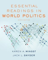 Essential Readings in World Politics 6th Edition 9780393283662 0393283666