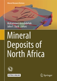 Mineral Deposits of North Africa 1st Edition 9783319317335 3319317334