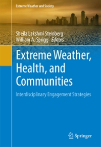 Extreme Weather, Health, and Communities 1st Edition 9783319306261 331930626X